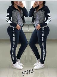Tuta Sportiva da Donna Rosa Taglie forti abbigliamento sportivo Felpe con cappuccio da donna Pantaloni lunghi Pantaloni 2 pezzi Completi da uomo Primavera Abbigliamento casual
