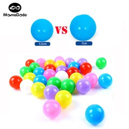 Ball For Game NZ - for 50PCS 7CM Eco-Friendly Pit Soft Ocean Stress Air Outdoor Game Play Pit Balls For Pool