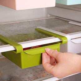 $enCountryForm.capitalKeyWord Australia - Hot Sale Slide Kitchen Storage Boxes durable Fridge Freezer Space Saver Organizer Storage Rack Shelf Holder