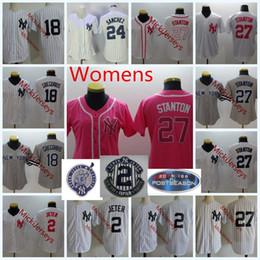5f97ed8b0 Derek jeter black online shopping - Womens Derek Jeter Cool Base baseball  Jerseys Lady Giancarlo Stanton