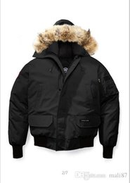 Cheap Men Parkas Australia - 2018 new Fashion Winter Down Hooded Bomber Parka Jackets Green Zippers Jacket Men Warm Canada Coat Outdoor Coats Cheap Sale free shipping