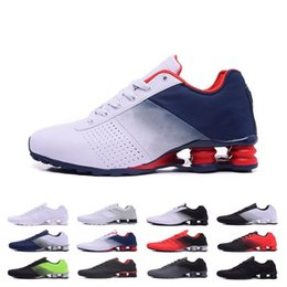 Discount basketball shox shoes - New Shox Deliver 809 men Running Shoes Black White Green red High Quality Mens Athletic Sneakers Sports Running Shoes si