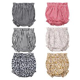 Vente en gros Nouveau-né Enfants Baby Boy Shorts Filles Bottoms Bloomer couches culottes couverture PP Pantalons pour les vêtements enfants tout-petits enfants