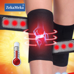 Magnetic knee supports online shopping - ZekaMeka Pair Magnetic Brace Support Massager Knee Therapy Spontaneous Heating Belt Band Knee Pads