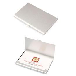$enCountryForm.capitalKeyWord UK - Unisex Stainless Steel Waterproof Aluminium Metal Case Box Business Id Name Credit Card Namecard Holder Cover Cardcase
