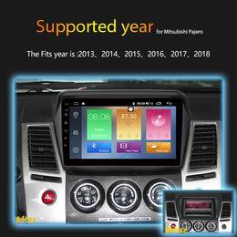 Mitsubishi Gps Dvd Australia - IPS 2.5D 2GB Ram 32GB Rom 9 inch Android 8.1 Car DVD For Mitsubishi Pajero Sport 2013-2017 Car gps navigation built in wifi bluetooth