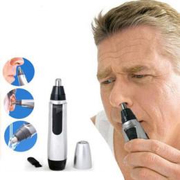 Nose hairs online shopping - Electric Shaving Nose Hair Trimmer Nose Ear Eyebrows Trimmer Safe Face Care Shaving for Men HHA301