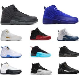 $enCountryForm.capitalKeyWord Australia - [With sport watch] Mens 12s basketball shoe Winterized WNTR Gym Red Michigan Bordeaux 12 white black The Master Flu Game taxi sports sneaker