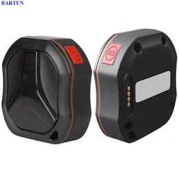 Mini Antenna For Cars Australia - GPS Trackers TKSTAR TK109 Mini Waterproof Car Pet 2G 3G GSM GPS Tracker Locator for Vehicle Dog Cat Real Time LBS SOS