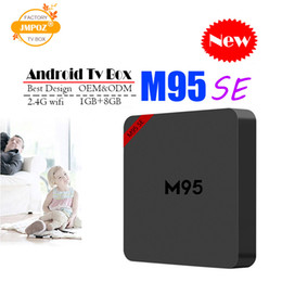 Best Media Player Android Australia - Best M95 SE Allwinner H3 1G 8G Android 7.1 TV BOX Quad Core Ultra HD H.265 4K Stream Media Player Better Amlogic S905W TX3 S8 mini T95Z H96