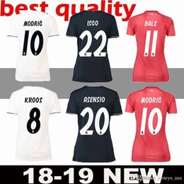 Women ISCO Real Madrid home white Soccer Jerseys 18 19 Real Madrid Women  away soccer Shirts 2019 lady 3rd red Football uniforms ASENSIO girl bc7ee8630