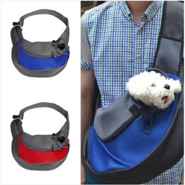 Bags Carry Puppies Australia - Sales!!! Free shipping Wholesales !!!Pet Dog Cat Puppy Carrier Comfort Travel Tote Shoulder Bag Sling Backpack Dog carrying supplies