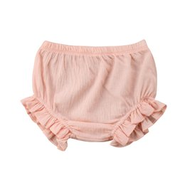 girls toddler bedding UK - 0-3Y Toddler Girl Bread Pants Infant Big PP Shorts Kid Boy Cotton Bedding Bloomers Baby Clothing Summer Bottoms Clothes Cotton