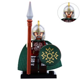 Knights Blocks Australia - Building Block 21PCS   LOT New Hobbit Lord of the Rings Eomer Knight Rohan Soldier Minifig Weapons Compatible with Legoe 9471 Block