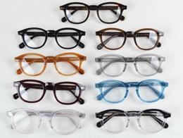LEMTOSH Brillengestell klare Linse Johnny Depp Brillen Myopie Brille Retro Brillengestell für Damen und Herren Myopie