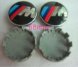 $enCountryForm.capitalKeyWord Australia - 100 pcs 68mm Gloss alloy wheel centre caps 10 Pin will fit BMW M sport most series