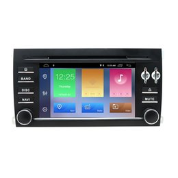 Cassette Stereo Australia - 7inch Android 8.1 Car GPS Navigation for Porsche Cayenne 2003-2010 2 Din Car DVD Radio stereo Head unit Multimedia Player