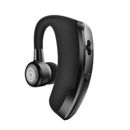 bluetooth wireless headsets cell phones 2019 - Ear Hook wireless headset car business universal mobile phone stereo mini Bluetooth headset one for two cell phones disc