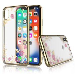 Kitty Glitter Australia - Luxury Rhinestone Glitter Holder Phone Case For Samsung Galaxy S10 Plus S10 Note 9 M20 M30 A30 A50 A70 Iphone XS MAX XR X Perfume Kitty Case