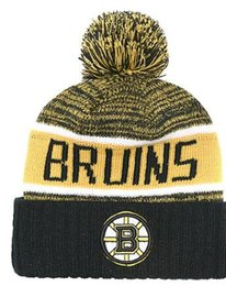 b16db5aeca0d Boston Bruins Hat UK - BOSTON Unisex Autumn Winter hat men women Sports  Hats Custom Knitted