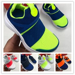 Boys Shoes 24 NZ - King 2018 Presto Breathable Upper Training one foot Boy girl youth Sneakers kids Children Indoor & Outdoor Running Shoes Size 24-35