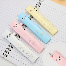 mechanical bearing NZ - Cute bear automatic pencil lead 0.5mm 0.7mm 2B painting Mechanical Pencil refills 15 leads a box