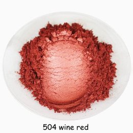 $enCountryForm.capitalKeyWord Australia - 500g Wine red pearl powder mica powder pearlescent pigment pearl powder for make up&soap&Automobile paint,eyeshadow &lipstick