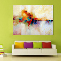 $enCountryForm.capitalKeyWord Australia - 1 Piece Abstract Colorful Wall Art Picture Home Decor Living Room Modern Canvas Print Painting No Frame