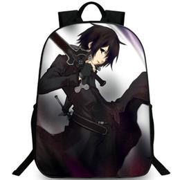 $enCountryForm.capitalKeyWord UK - Kirito backpack SAO day pack Kirigaya Kazuto school bag Sword Art Online packsack Picture rucksack Sport schoolbag Outdoor daypack