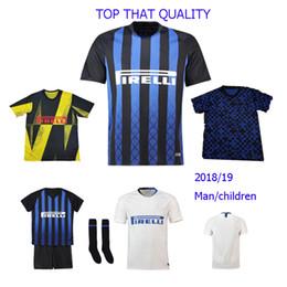 d90a7c0d2b8 Thailand 1819 seasons Inter Milan Soccer Jerseys ICARDI jersey J.MARIO 10  VECINO SKRINIAR 37 have kids kit football shirt mailont de foot