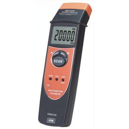 $enCountryForm.capitalKeyWord UK - Professional Multi-Functional Tachometer 2.5-99999RPM Handheld Digital LCD RPM Meter USB Interface Speedmeter Recorder