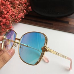 $enCountryForm.capitalKeyWord Canada - Women Subra 974S Sunglasses Gold Blue gafas de sol Sonnenbrille Brand designer sunglasses for women New with box
