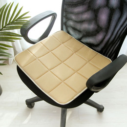 $enCountryForm.capitalKeyWord Australia - Seat Cushion Lightweight Car Accessories Cooling Eco-friendly Home Bamboo Charcoal Chair Pad Office Sofa Square Mat Breathable