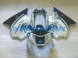 Black Body Honda Australia - Injection Customized Fairing set for HONDA CBR600F4 99 00 CBR600 F4 1999 2000 CBR 600 F4 600F4 CBR600 blue black Fairings body kit HP67