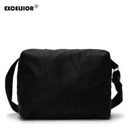 Luggage Hand Bags Australia - EXCELSIOR Casual Nylon Travel Bag Large Capacity Men Hand Luggage Travel Bags Nylon Weekend Bag Women Multifunctional