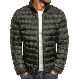 Zipper Clothes Australia - fashion warm casual men's cotton clothes men's clothes 2018 casual zipper multi-color large size Slim new brand