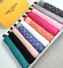 Wholesale 22 color brand scarf brand wool and cotton scarf triangle woman scarf cm display real pictures