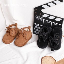 old snow boots NZ - Children's genuine leather shoes girls' winter warm 2019 new Korean boys' Snow boots 0-1-3 years old toddler shoes