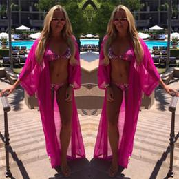 $enCountryForm.capitalKeyWord Australia - New Hot Sale Women Sexy Chiffon Long Dress Sarong Pareo Beach Bikini Swimwear Beach Cover Up Scarf