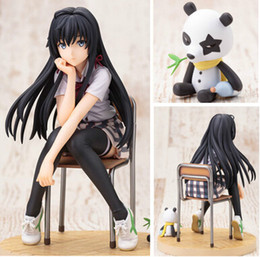 Romantic Figures Australia - NEW hot 14cm My Teen Romantic Comedy SNAFU Yukinoshita Yukino Yukipedia Nekopedia action figure toys collection christmas toy