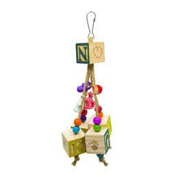 $enCountryForm.capitalKeyWord NZ - Parrot Toys Bird Toys Beads Letter Digital Block Bite String And Hang String Cage Decoration Amazon Ebay