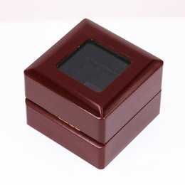 China USA size 10 11 12 13 factory wholesale price 2011 IPDEACT011 rings solid ring wooden display box drop shipping supplier solid drop rings suppliers