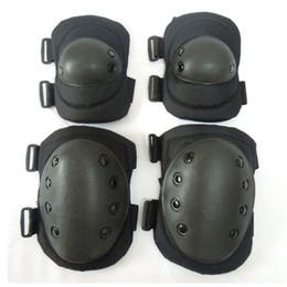 Tactical Protective Gear Australia - Tactical Combat Protective Knee Elbow Protector Pad Set Gear Sports Military Knee Elbow Protector & Pads for Adult #310130