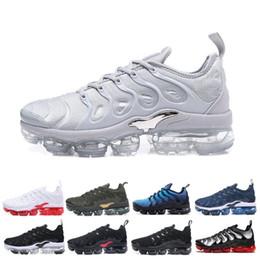 Black art work online shopping - TN Plus Sneaker Men Women Running Shoes Sunset Triple Black White Silver Patterns Game Royal Work Blue SILVER PATTERNS Trainer Sport Sneaker