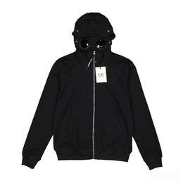 $enCountryForm.capitalKeyWord Australia - 18ss C.P. Company Hooded Jacket Men Women Fashion Zipper Windbreaker Coat Casual Streetwear Clothing Outwear Cotton Hoodies Jacket HFYMJK008