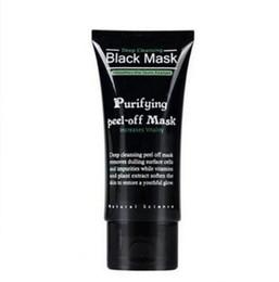 Black Mask Wholesale UK - 2019 Purifying Peel-off Mask Shills Deep Cleansing Black Shills Face Mask Pore Cleaner 50ml Blackhead Facials Mask