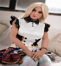 sex doll mans factory UK - Factory hot sell 165 cm big breast silicon sex dolls 2019 new design adult sex toys for men 33th head