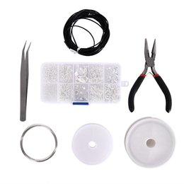 wire repair UK - Jewelry Findings Set Jewelry Making Kit Starter Kit Jewelry Beading Making & Repair Tools Kit Pliers Silver Beads Wire