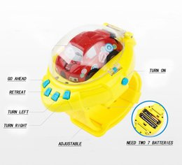 Remote Control Baby Cars NZ - Baby Toys Car Gravity Sensing 4CH RC Car Gesture Control Cars with Wearable Watch Controller 4 Colors Remote Control Car Gift for Kids