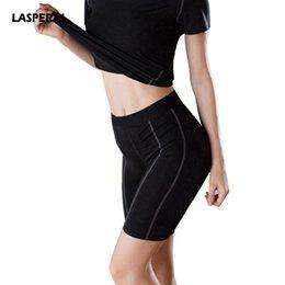 bae468359cf4f Geometric black white tiGhts online shopping - LASPERAL Fitness Women Yoga Shorts  New Pro Compression Short
